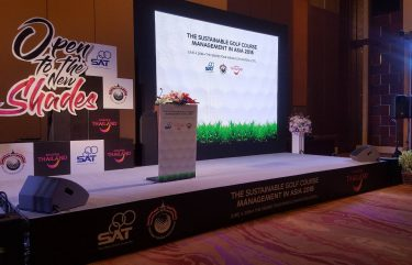 The sustainable golf course management in asia 2018